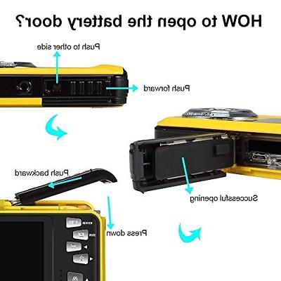 Underwater Camera Camcorder HD for 48.0 MP Waterproof