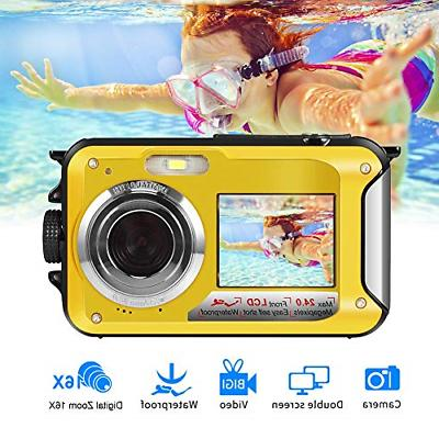 underwater camera camcorder full hd 2 7k