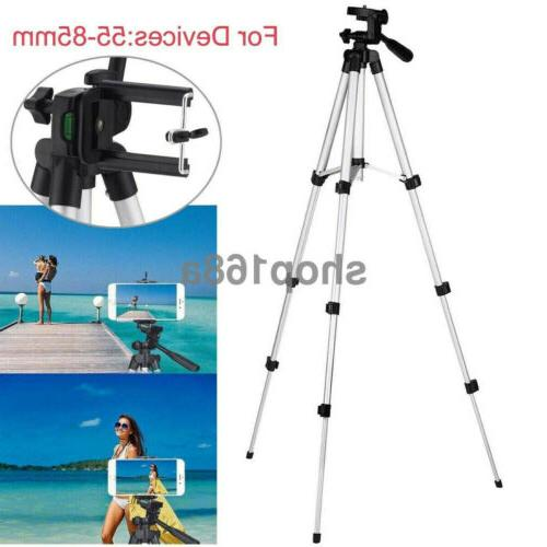"""41"""" Tripod Holder Mount iPhone/Samsung Cell Phone"""
