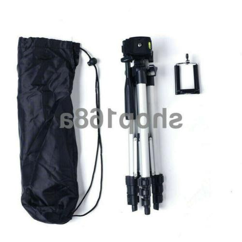 """41"""" Tripod Holder Mount Professional iPhone/Samsung Cell Phone"""