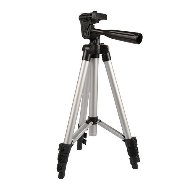 universal portable aluminum tripod stand with bag