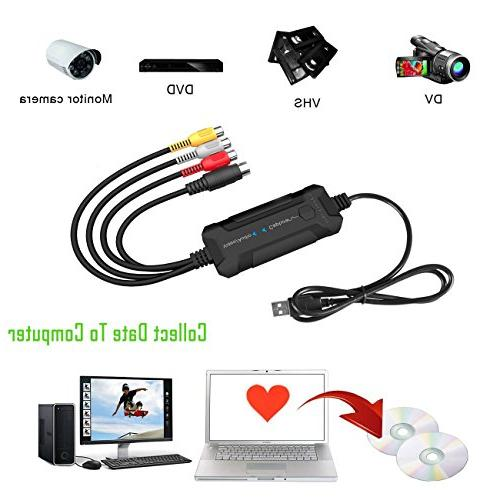 Top-Longer USB to Video/Audio Device or Mac USB Video
