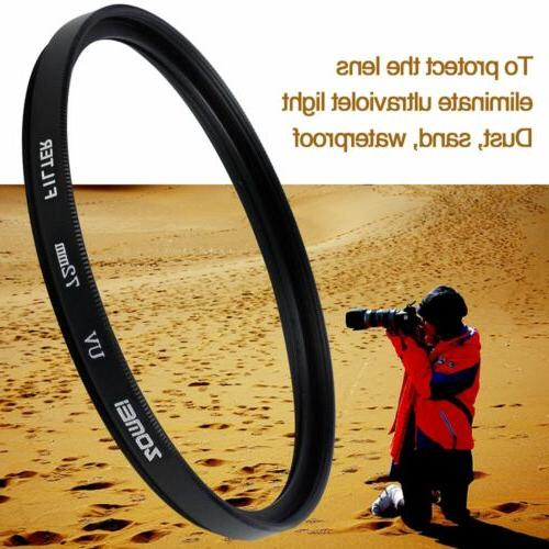 uv filter camera lens protector for canon