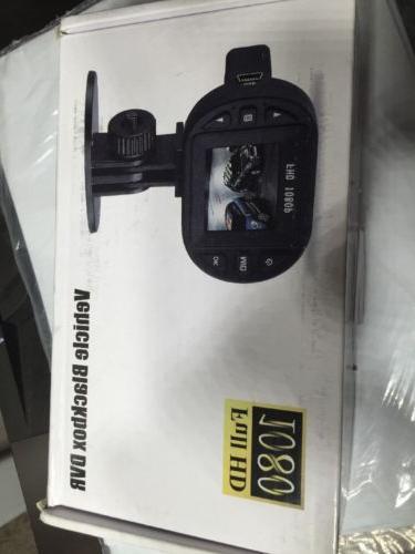 Dash Cam HD 1080 Camera Black