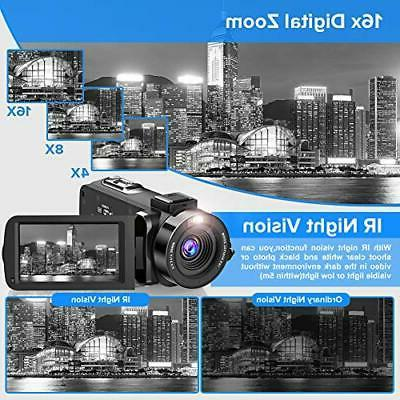 Video 2.7K Ultra HD Camera Night Visio