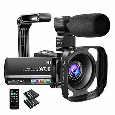 Video Camera Camcorder Ultra Vlogging Camera 36MP Visio