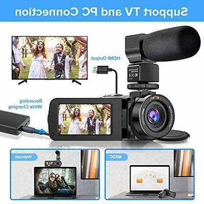 Ultra YouTube Camera 36MP Night Visio