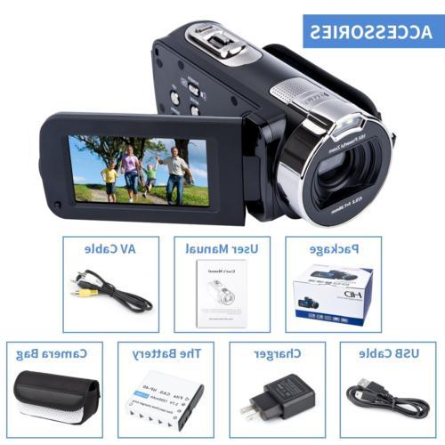 Video Camcorder Vlogging 1080P