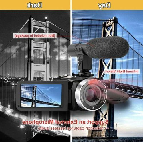 Video Camcorder HD 24.0 MP Vision