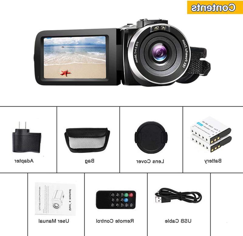 Video Hd 1080P Mp Vlogging Came