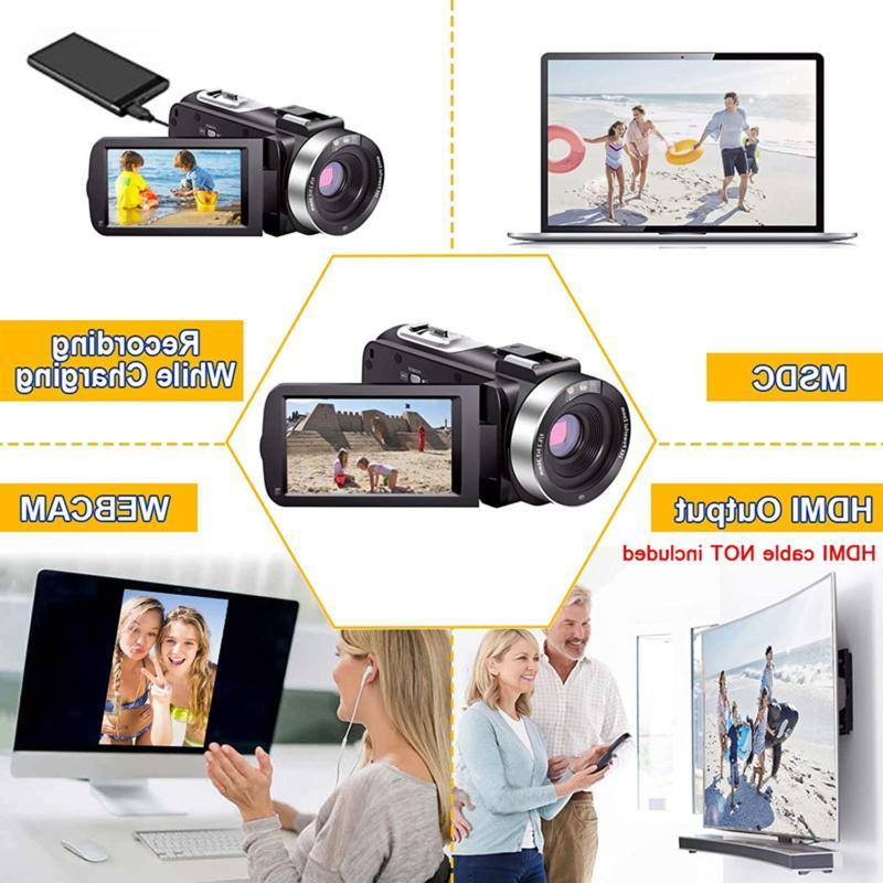 Video Hd 1080P 30Fps 24.0 Mp Night Vlogging