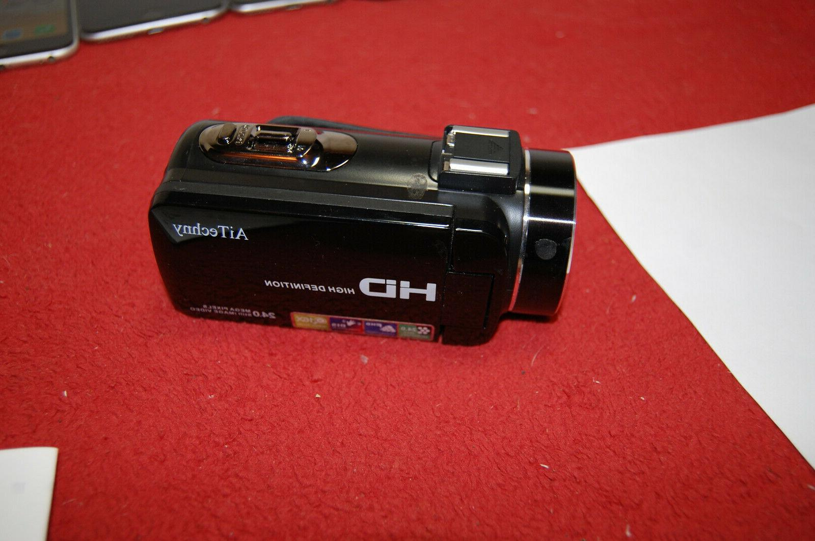 Video Camera Camcorder AiTechny HD 1080P 24.0MP 16x Zoom FHD