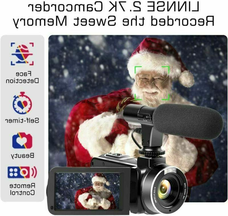 Video Camcorder, 30Fps 3''