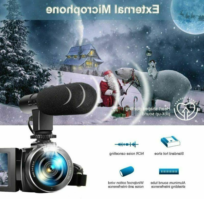 Camera 1080P 30Fps 3'' Screen