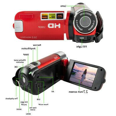 Video Camera Vlogging Camera HD 1080P YouTube