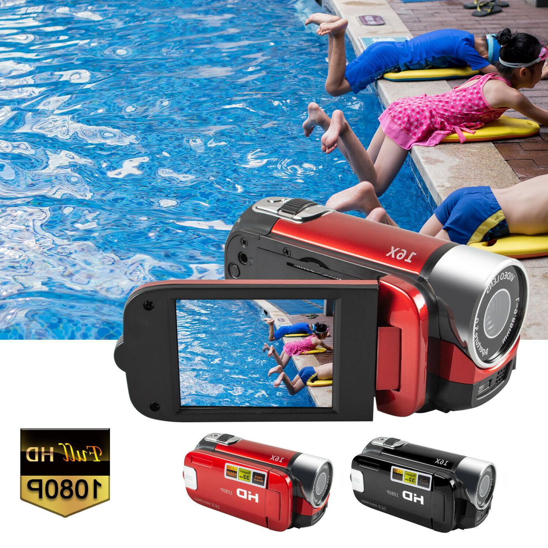 video camera camcorder vlogging camera hd 1080p