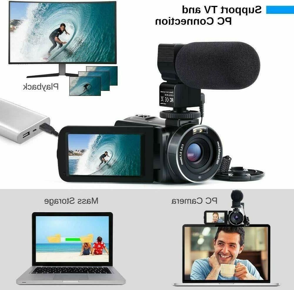 Video Camera IR 1080P 30FPS Vlogging 16X