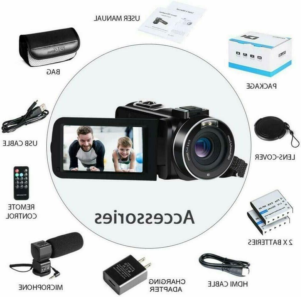 Video Camera IR 1080P 30FPS YouTube 16X