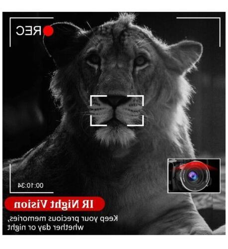 Video Microphone 2.7K Ultra WIFI, Camera