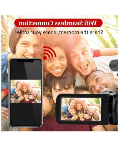 Video Camera Microphone 2.7K WIFI,