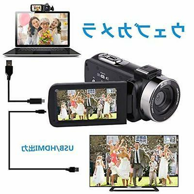 Video digital camcorder 3 inches screen