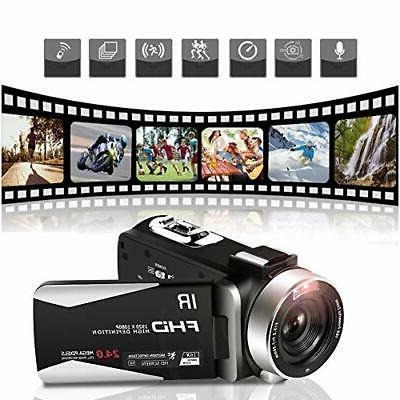 Video camera camcorder IPS screen