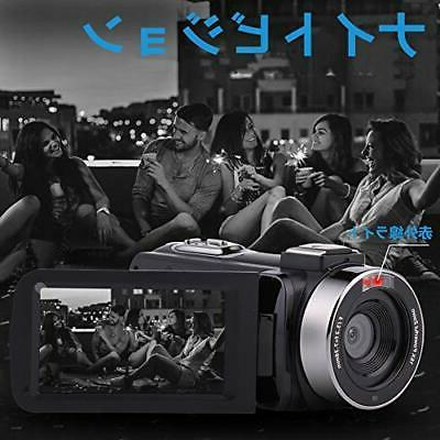 Video camera screen 128GB card correspondi
