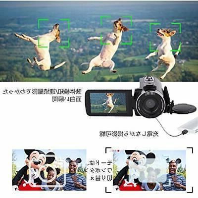 Video camera digital camera 2.7K 30MP 16 times zoom