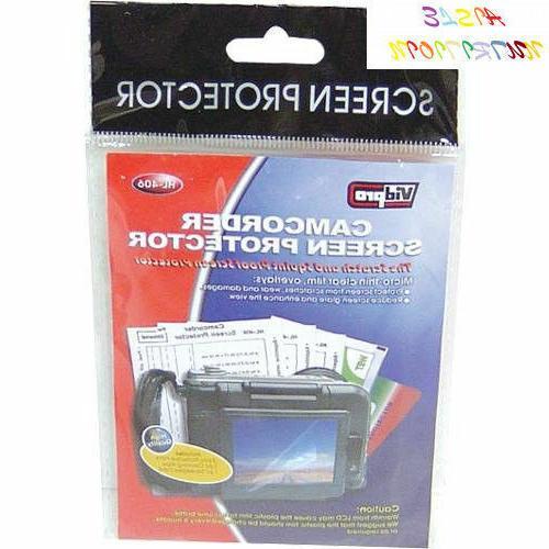 vidpro digital camera camcorder screen lcd protectors