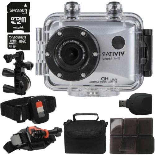 vivitar dvr786hd waterproof action camcorder