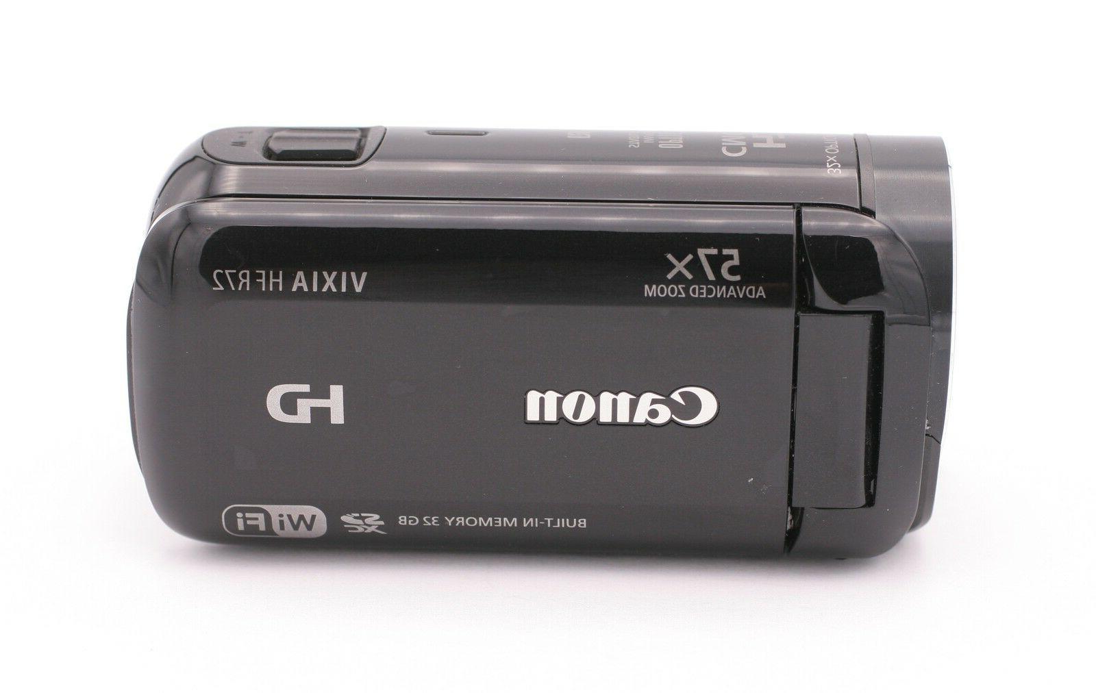 Canon VIXIA HF R72 32GB Full HD Camcorder - Black