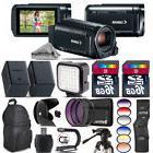 Canon VIXIA HF R800 57x Camcorder + LED + Extra Battery + UV