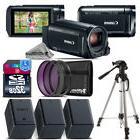 Canon VIXIA HF R800 Camcorder + Tripiod + 2 Extra Battery +