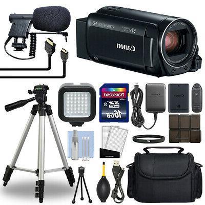 Canon VIXIA HF R800 Full HD Camcorder HFR800 Black 57x Advan