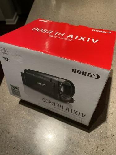 vixia hf r800 handheld camcorder black