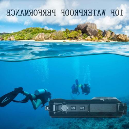 Waterproof for Snorkeling HD 1080P