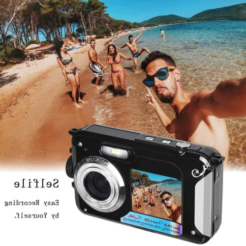 Waterproof Underwater for HD 1080P 24.0 MP Point