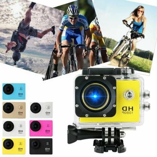1080P Ultra HD 1080P 16MP Waterproof 30M Outdoor Action Came