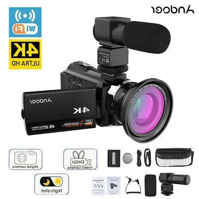 digital video camera recorder camcorder dv wifi