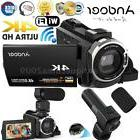WiFi 4K 1080P FULL HD 48MP 16X Zoom Digital Video Camera Cam