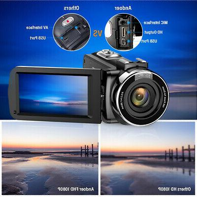 Video Camcorder 24MP 3.0""