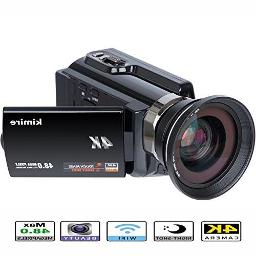 wifi camcorder ultra recorder rotation
