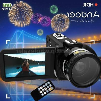 wifi zoom touch dv camcorder