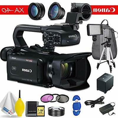 Canon XA40 - Black Bundle