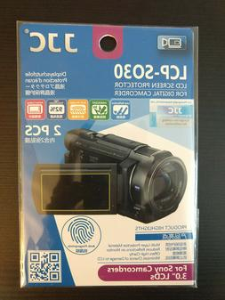 Compatible with Sony HDR-CX190 TrueVue Crystal Clear Digital Camcorder Screen Protector Lexerd
