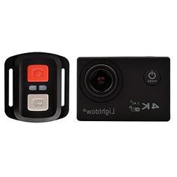 Lightdow 4K WiFi + 2.4G Remote Control Sports Action Camera