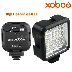 Godox LED36 Video Light 36 LED Lights for DSLR Camera Camcor