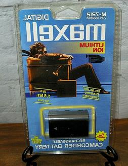 Maxell Lithium Ion Digital Rechargeable Camcorder Battery-NE