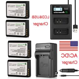 LP-E10 Battery + Charger For Canon Rebel T5 T6 T3 EOS 1100D