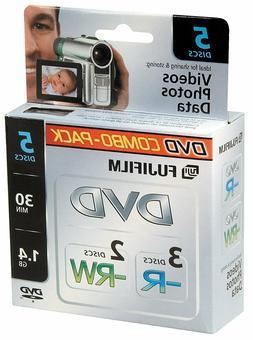 Fujifilm Media 25302434 3 DVD-R/2 DVD-RW 1.4 GB 30 Minutes H